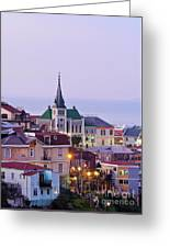 Valparaiso, Chile Greeting Card