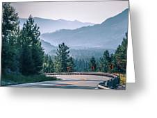 Vast Scenic Montana State Landscapes And Nature Greeting Card