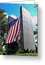 Viet Nam Veteran's Memorial  Greeting Card