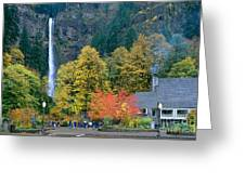 View Of Oregon Greeting Card