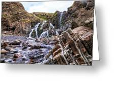Welcombe Mouth Beach - England Greeting Card