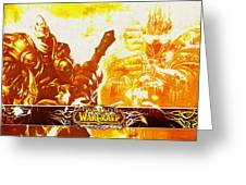 World Of Warcraft Greeting Card
