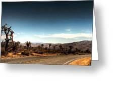 G H Landscape Greeting Card