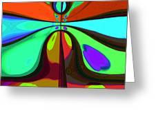 60s Free Love Greeting Card