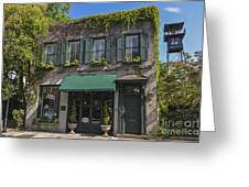 61 Queen Street In Charleston Greeting Card