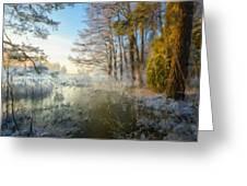 Lake Landscape Greeting Card