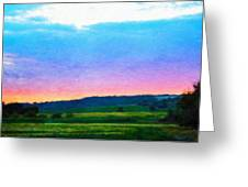 Nature Landscape Artwork Greeting Card