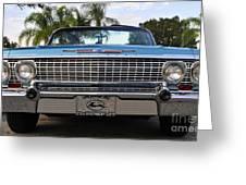 63 Impala Greeting Card