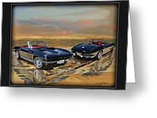 63 Vette Greeting Card