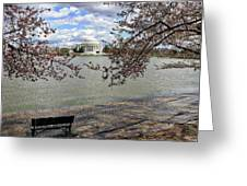 Washington Dc Usa Greeting Card