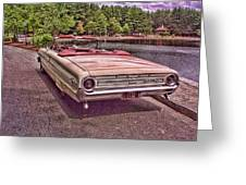 64 Ford Greeting Card