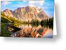 Nature Work Landscape Greeting Card