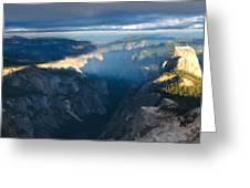 R F Landscape Greeting Card