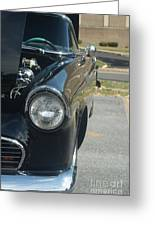 55 Thunderbird Front And Side Greeting Card