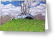 67 Volkswagen Beetle Greeting Card