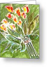 Divine Flowers Greeting Card