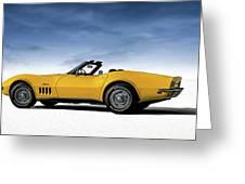 '69 Corvette Sting Ray Greeting Card