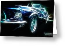 69 Mustang Mach 1 Fantasy Car Greeting Card
