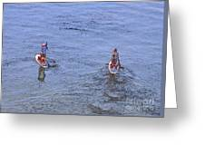 69- Paddle Boarders Greeting Card
