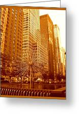 6th Avenue In Mahattan Greeting Card