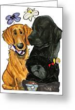 7-1396 Scallon Greeting Card