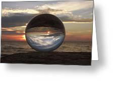 7-24-16--4250 Don't Drop The Crystal Ball, Crystal Ball Photography Greeting Card