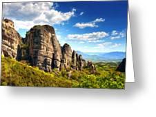 9 Landscape Greeting Card