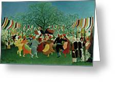 A Centennial Of Independence Greeting Card