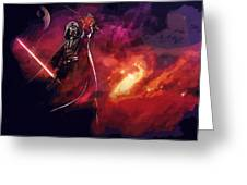 A Star Wars Art Greeting Card