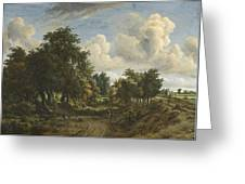 A Wooded Landscape Greeting Card