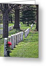Arlington Cemetery Washington Dc Usa Greeting Card