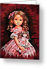 Baby Doll Collection Greeting Card