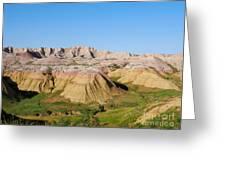 Badlands National Park South Dakota Greeting Card