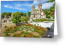 Braga Sanctuary Portugal Greeting Card