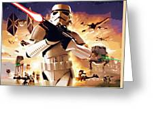 Collection Star Wars Art Greeting Card