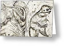 Creature Greeting Card