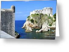 Croatia, Dubrovnik Greeting Card