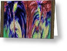 Digital Software Art Greeting Card