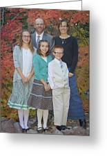 Family Pictures Greeting Card
