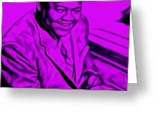 Fats Domino Collection Greeting Card