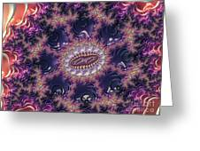 Fractal, Pattern, Kaleidoscope, Art Greeting Card