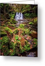 Goit Stock Waterfall Greeting Card