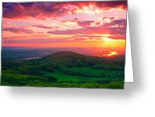7 Hills Of Bonn Greeting Card