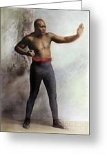 Jack Johnson, 1878-1946 Greeting Card