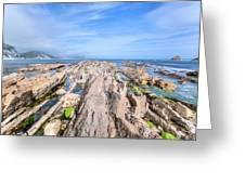 Jurassic Coast - England Greeting Card