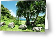 Keanae Maui Hawaii Greeting Card