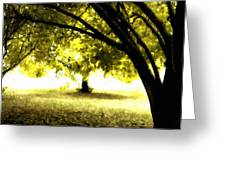 Landscape Wall Greeting Card