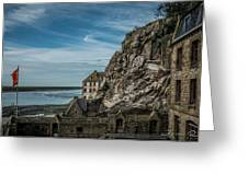 Le Mont Saint Michel Greeting Card
