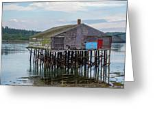 Lubec, Maine  Greeting Card