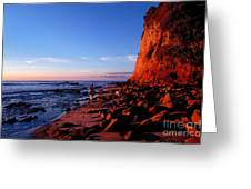 Malibu Sunrise Greeting Card
